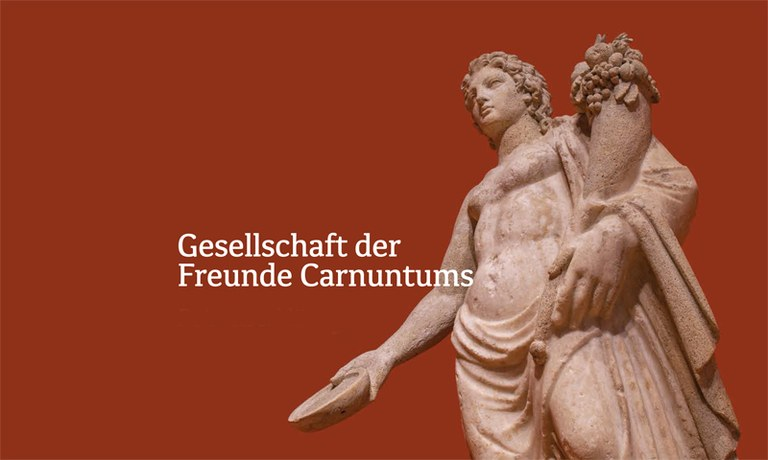 The founding of Gesellschaft der Freunde Carnuntums or GFC (Society of Friends of Carnuntum) in 1885 laid the cornerstone for conducting research in and on Carnuntum. GFC is one of Austria's oldest associations of its kind and deeply steeped in tradition