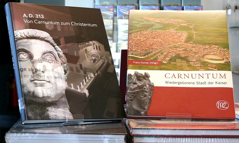 Every year, a number of Carnuntum-related magazines, scientific reports and catalogues are issued by a team of esteemed academics from different fields.