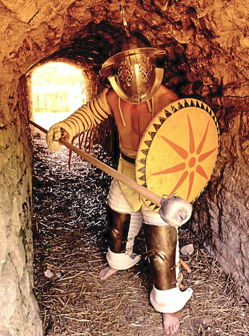 I originate from the Province of Raetia and was always intrigues by adventures, women and wine. Being short of money most of the times, I joined the Familia Gladiatoria Carnuntina. If the gods keep smiling upon me, I will soon be a rich man – or otherwise be swallowed up by Hades.