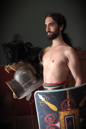Born under the bright Carthaginian sun, I volunteered as a gladiator when I was 17.  Fame, honour and women, and regular meals in particular were motivation enough for me.
